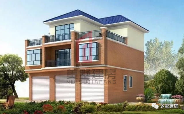 房子在农村的街道旁边,一层想设计成商铺,有什么好的?图片
