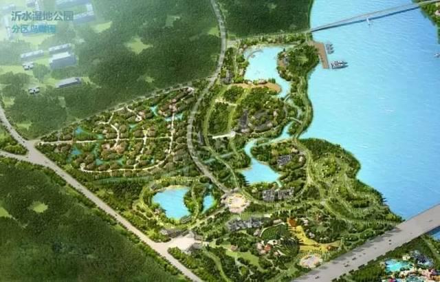 临沂滨河乐园平面图