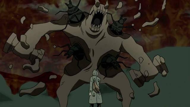 第四种:灼遁过蒸杀 灼遁过蒸杀是动画原创人物叶仓的血继限界能力图片