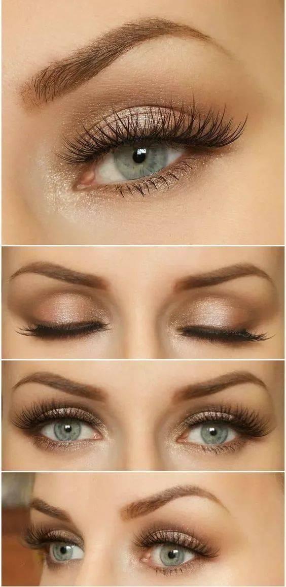 欧美妆_对眼窝的打理和眉型的夸张刻画是欧美妆容的重中之重