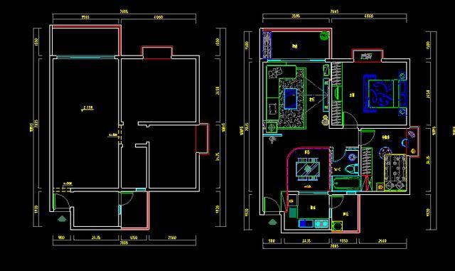 这时候你是不是想要直接用cad制图软件绘制一张家装施工图呢?