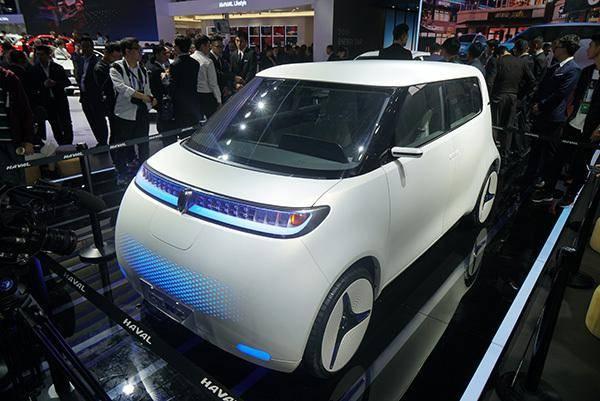 北京车展纯电动品牌欧拉发布长城汽车新能源棒图片
