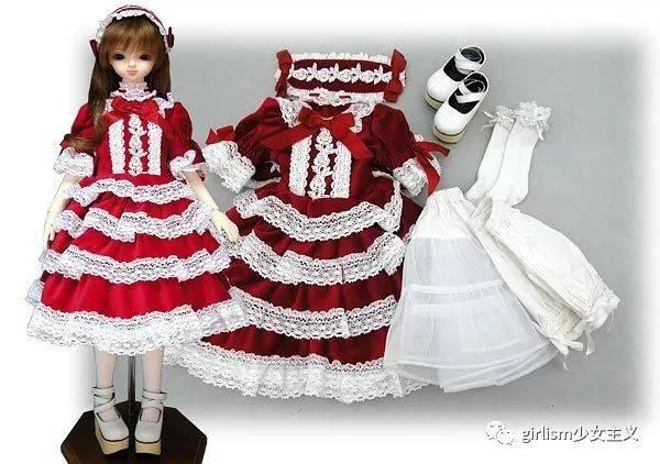 lolita x bjd | lo牌与娃的美貌合作款盘点图片