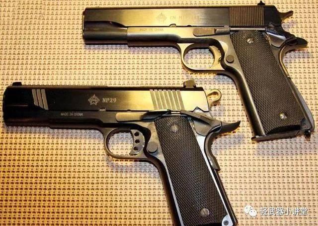【枪】回味经典:应网友要求今天来聊聊11.43mm和9mm的