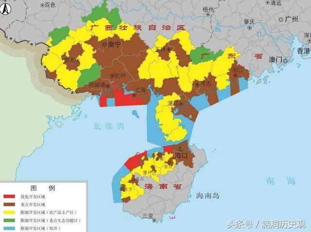 现在钦州灵山县这些地方就属广西,当然生活习俗跟广东更接近.