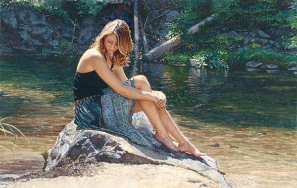 对水彩画创作语言探讨,世界顶级水彩人体艺术欣赏美得