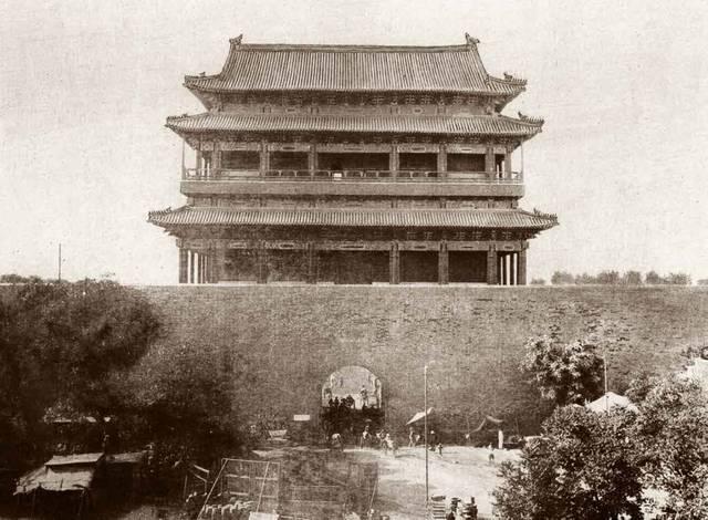 20年代照片_崇文门城楼老照片(20世纪20年代)