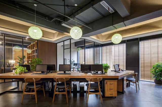 杭州钱江新城办公室装修效果图