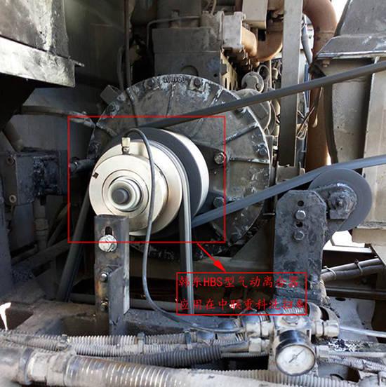 洗扫车气动离合器安装及注意事项图片