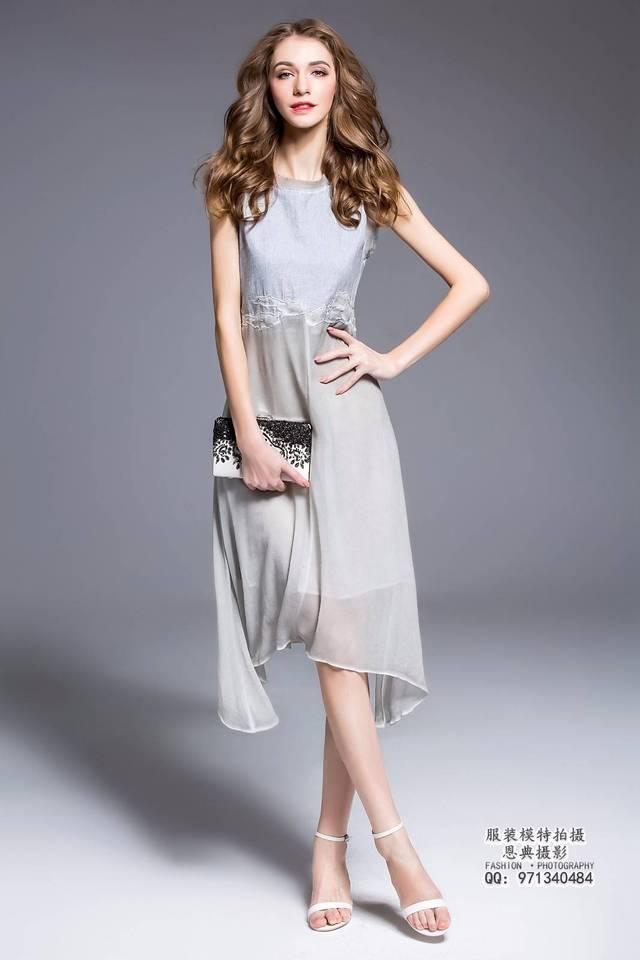 莉雅,是来自乌克兰的服装模特,飘洋过海来到中国.