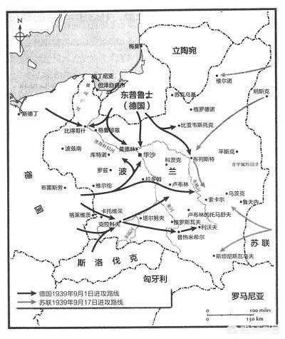 于是东普鲁士与德国本土相连的