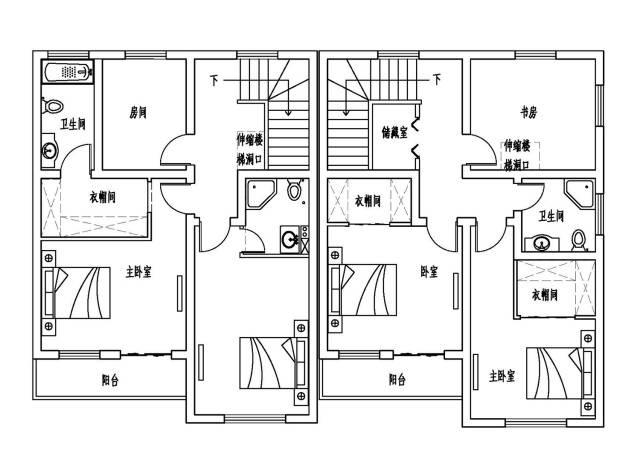 风水上佳,浙江舟山兄弟现代别墅,小户型也有大空间