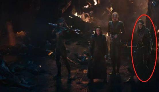 与《银河护卫队2》里,我们已经见识过灭霸的养女卡魔拉和干女儿星云.