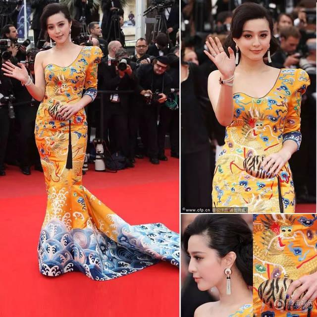 阿扎电影节红毯崔戛纳人鱼礼服被赞太漂亮能看的比较色的电影网站图片