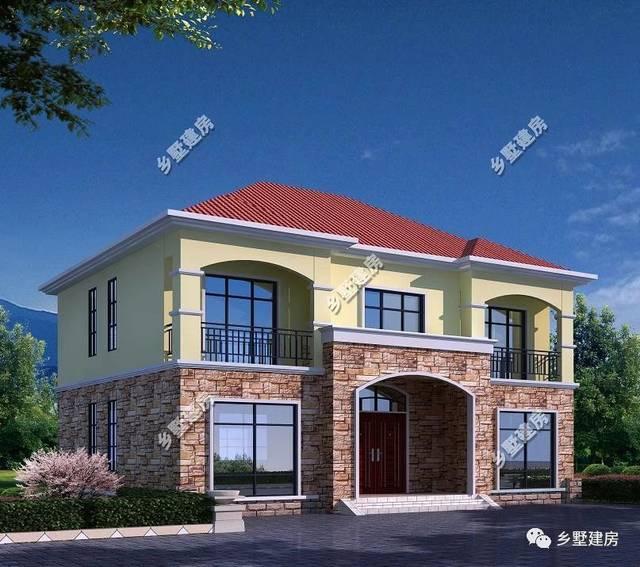 乡墅建房(图纸右下角)五百套最好自建房图片设计施工别墅任你选!桐城别墅农村的图片