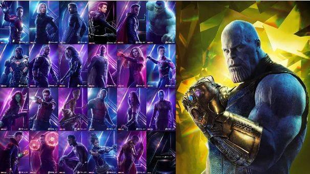 由《复仇者联盟3》引发的一次配色方法论研究!