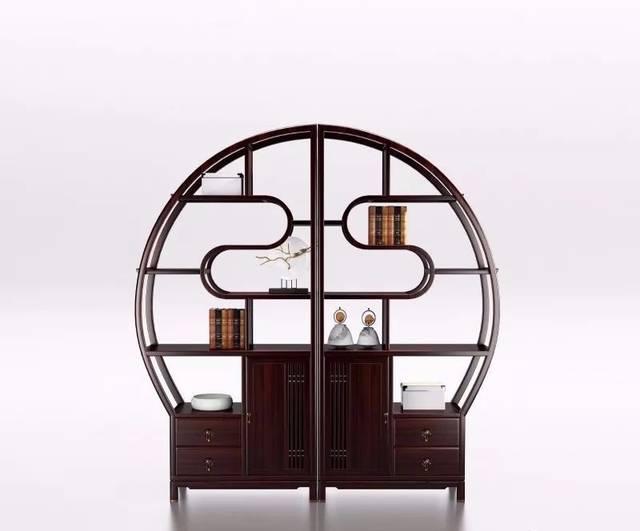 闻檀新中式家具承宋明美学风格,既保留宋式家具简约的设计元素,又图片