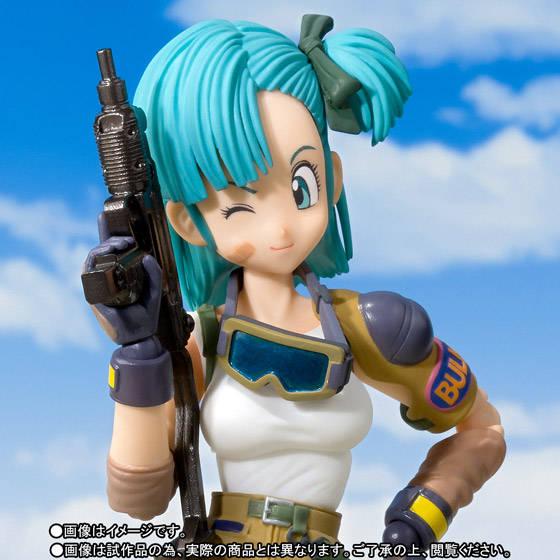 figuarts推出日本热血动漫《龙珠》中的女主角布尔玛可动手办~官方