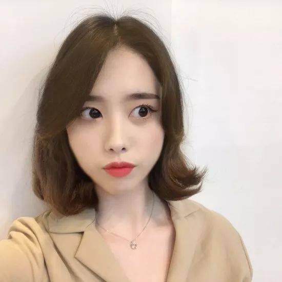 最近超超超流行的网红八字刘海短发!-时尚频道-手机