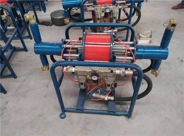 三,型号编制说明 四,工作原理 1,zbq型气动注浆泵  压缩空气经球阀图片