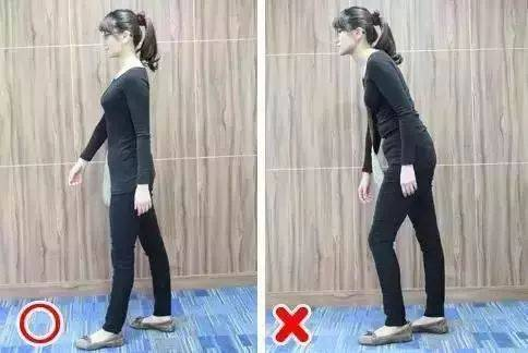 走路最佳姿勢:抬頭挺胸收腹圖片