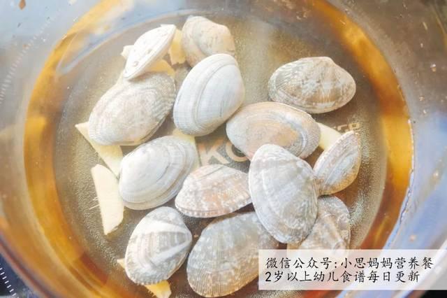辅食故事:花蛤冬瓜汤猴子和猫的食谱图片