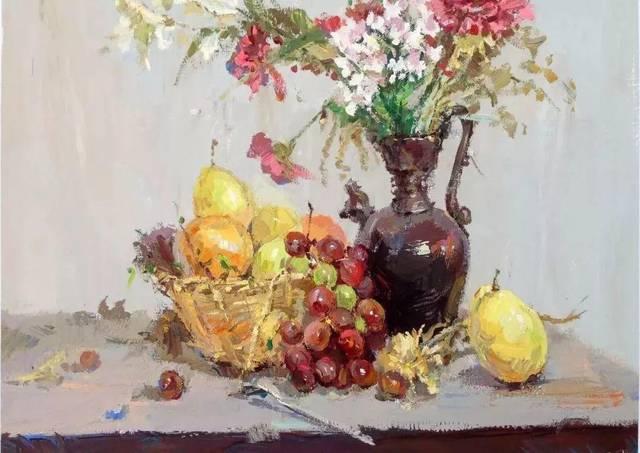 色彩绘画的重中之重:色彩静物中的素描关系