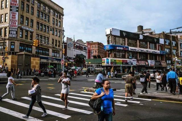 纽约布朗克林街区