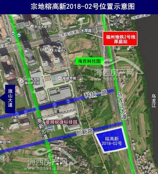 2018福州高新区规划图