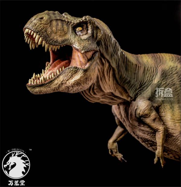 万茏堂 《侏罗纪公园:失落的世界》霸王龙buck 1:35模型