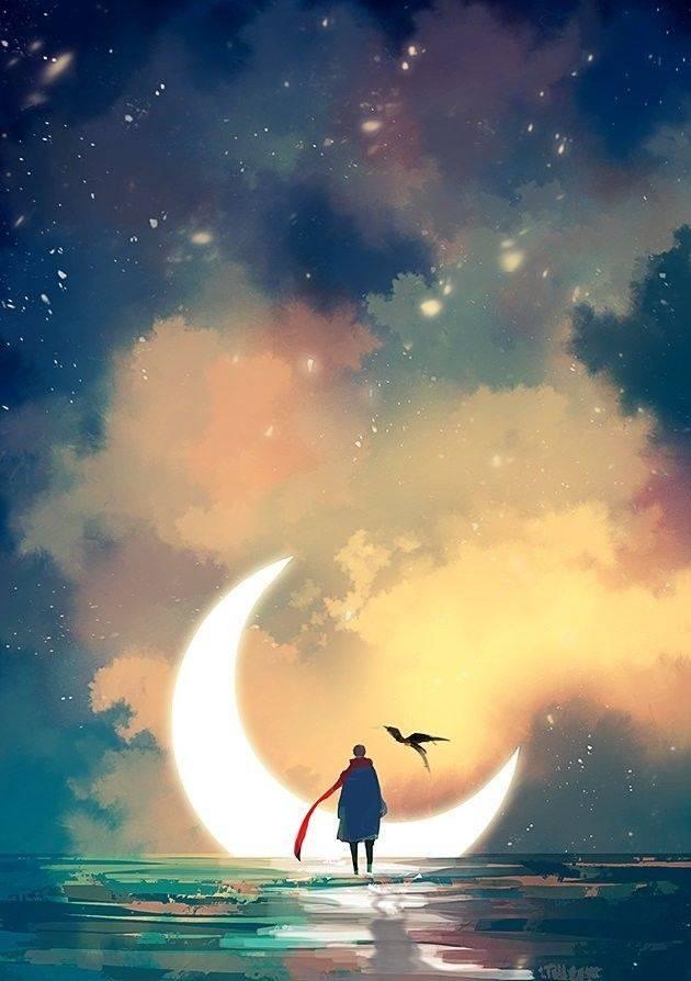 艺术欣赏 她把梦境融入了画里 创造出一个超级梦幻的世界