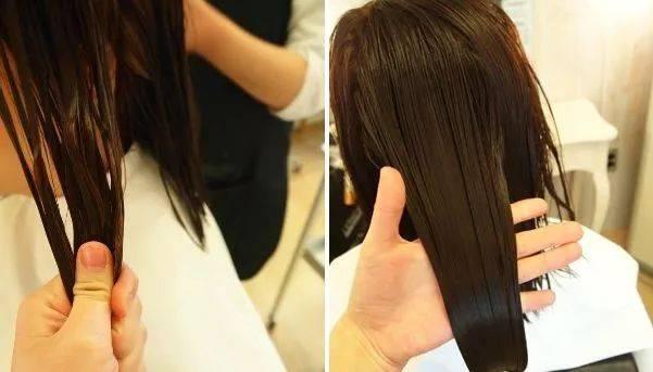 含有橄榄油,高润滑高渗透,让头发软化下来.