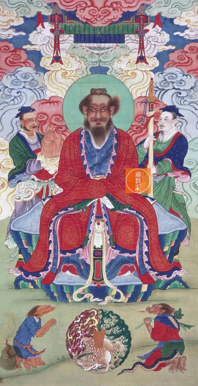 祖天师张道陵,民间俗称张天师,本名张陵,字辅汉,道教徒尊称为张道陵