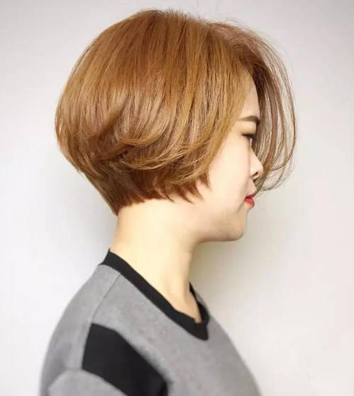 短发烫了才好看,超短发+纹理烫,可萌可帅还那么可爱图片