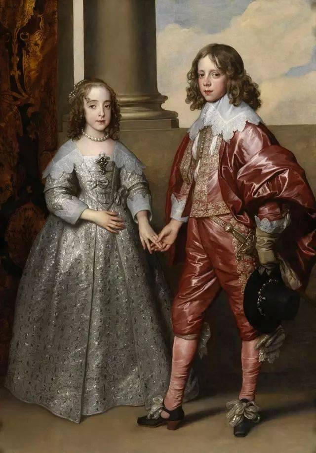 贵族色昝_画中的贵族少年,穿着粉红色衣服.