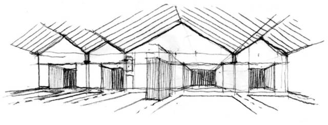 房屋手绘图