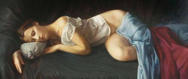 揭秘:国外超写实油画绘画步骤,宛如仙女般超逼真人体艺术油画欣赏