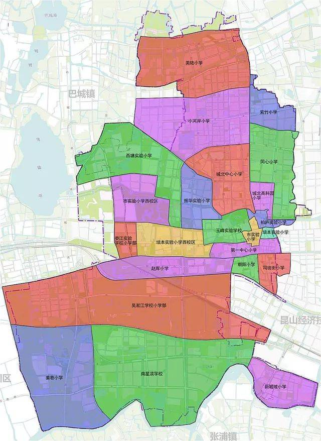 苏州市全景地图_昆山区域划分地图展示_地图分享