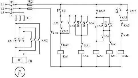 电机控制回路45计,针对不同功率电机,实用