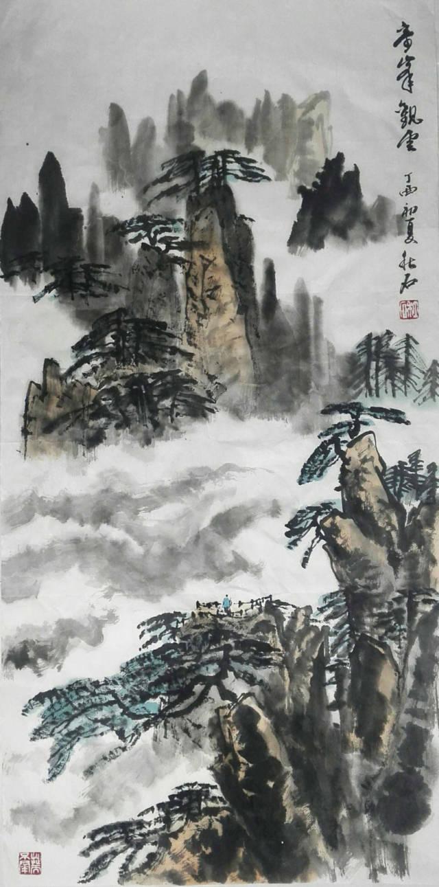 著名画家卢秋石:厚重不失灵动,古拙而不失稚趣.