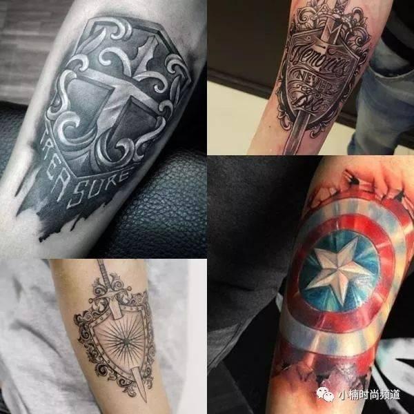 余文乐也痴迷!硬派男必备这 6 种「兵器刺青」