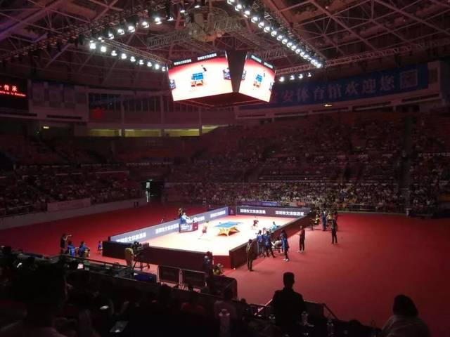 昨天,菁英航运国际乒联世界巡回赛——2018中国乒乓球公开赛在深圳