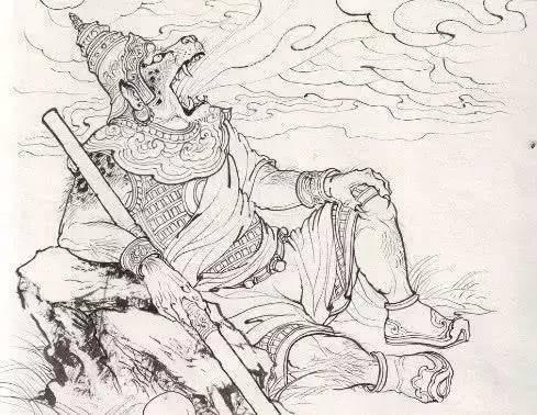 西游里唯一被猪八戒打死的妖王, 他的名字激怒了孙悟空图片