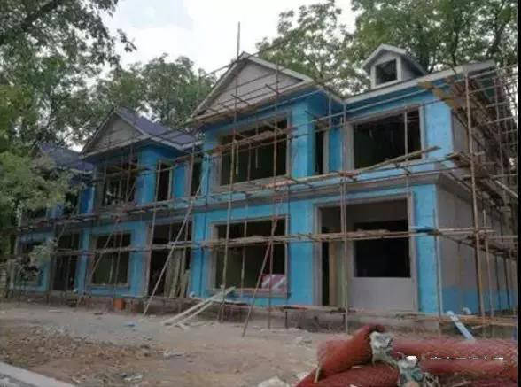 案例||农村三兄弟共建联排轻钢别墅,占地500平,每户主体才30万