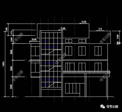 女包工头亲自手绘效果图,150万建临街别墅| 施工队作品展