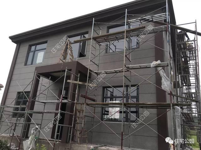 別墅顏色外墻灰色搭配