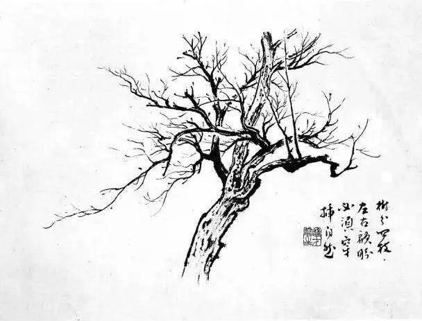 国画 简笔画 手绘 线稿 608_463图片