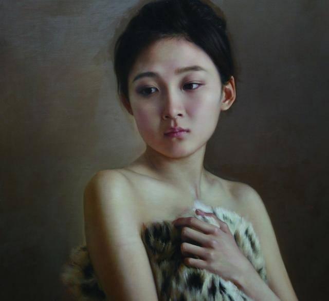 堪比照片的超写实主义人体艺术油画赏析,熟透的性感令人心醉神迷