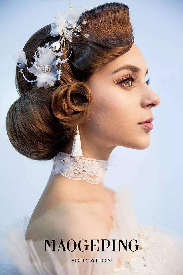 让你美得无与伦比 清新曼妙的妆容 气质优雅甜美 优雅轻复古新娘 超凡图片