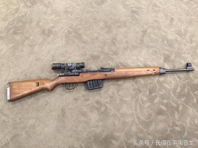 被人们遗忘的二战名枪 德国造 g-43半自动步枪